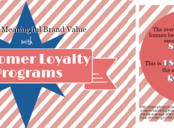 Promote Meaningful Brand Value with Customer Loyalty Programs